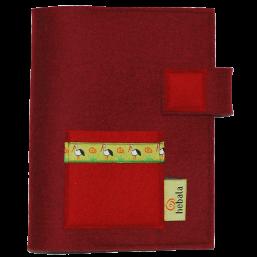 Kalenderhülle mit Storchenband