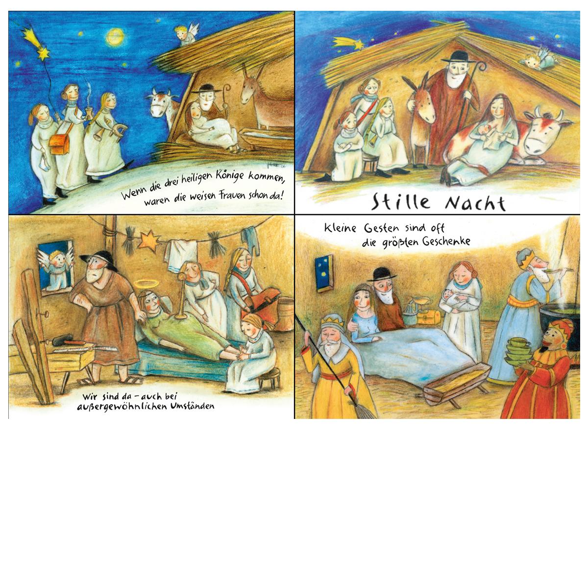 Weihnachtskarten-Set von hebala